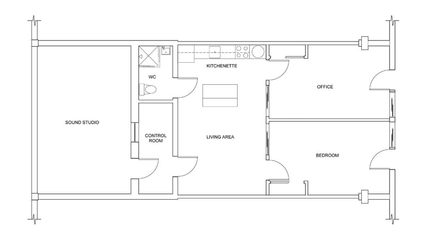 Floor Plans – Melrose Sound Studios